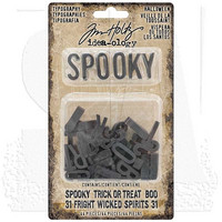 Tim Holtz Idea-ology: Typography Halloween