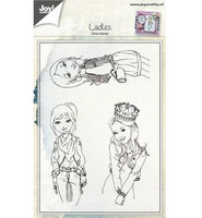 Clear Stamps: Ladies  -leimasinsetti