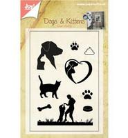 Dogs & Kittens -leimasinsetti