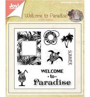 Welcome to Paradise 1 - kirkas leimasinsetti