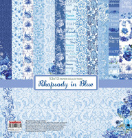 Rhapsody in Blue 12x12 - paperikokoelma