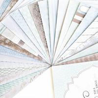 Craft Smith: Ice Crystals 12x12 - paperilehtiö