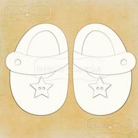 Baby Shoes -chipboardpakkaus