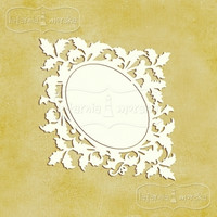 Ornamental Leaves Frame S -chipboardpakkaus