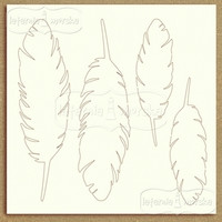 Feathers -chipboardpakkaus