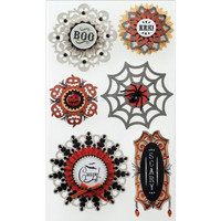 Jolee's Boutique 3D Stickers: Large Doily Medallions Halloween