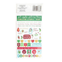 Recollections Planner Stickers: Merry Everything- tarrapakkaus