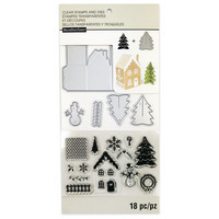 Decorate A House Clear Stamp & Die Set