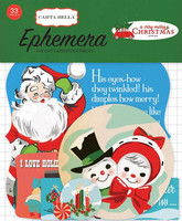 Carta Bella Ephemera:  A Very Merry Christmas