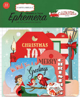 Carta Bella Frames & Tags Ephemera:  A Very Merry Christmas