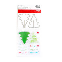 Decorate A Tree Clear Stamp & Die Set