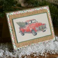Inkadinkado: Rustic Christmas  - kirkas leimasinsetti