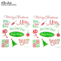 Stickabilities: Everyday Christmas Glitter - tarrapakkaus