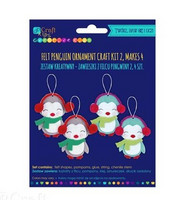 Felt Craft Kit: Penguin Ornaments - askartelupakkaus