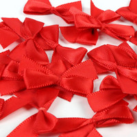 Mini Bows: Red