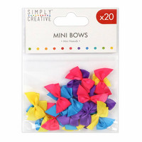 Mini Bows: Brights