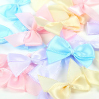 Mini Bows: Pastels