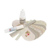 Tilda: Woven Paper Heart Baskets - askartelupakkaus