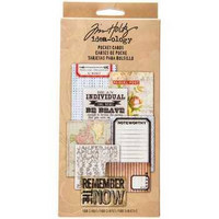 Tim Holtz Idea-ology: Pocket Cards
