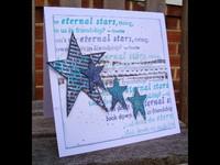Eclectica by Sara Naumann Ezmount A5: Stars - leimasinsetti