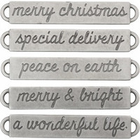 Tim Holtz Idea-ology: Word Bands Christmas