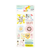Recollections Planner Stickers:  Lollipalooza Phrase - tarrapakkaus