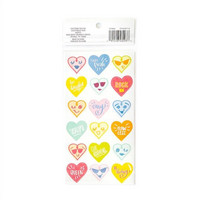 Recollections Planner Stickers:  Lollipalooza Heart Emoji - tarrapakkaus