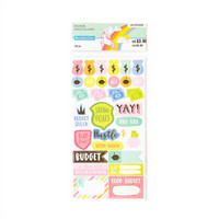 Recollections Planner Stickers:  Lollipalooza Budget - tarrapakkaus