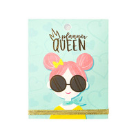 Lollipalooza Lolli Girl Planner Queen Sticker Book -tarrakirja