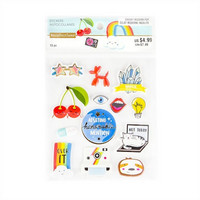 Dimensional Stickers: Modern Pop Adulting  -tarrapakkaus
