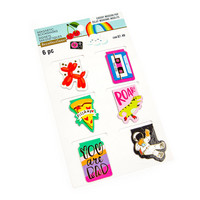 Modern Pop Astronaut Magnetic Bookmarks  - kirjanmerkit