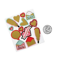 Scratch-Off Stickers: Valentine 2