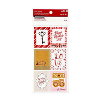 Recollections Planner Stickers:  Valentine Frames & Squares - tarrapakkaus