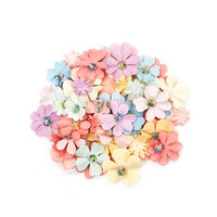 Backyard Table Paper Flowers: Pastel Mix