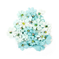 Backyard Table Paper Flowers: Mint