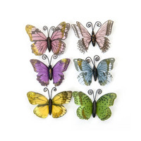 Backyard Table Butterflies: Pastel