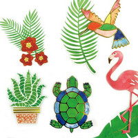 Coastal Village Diecut Stickers -tarrapakkaus