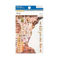 Coastal Village Postcard Pad: Wish You Were Here