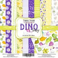 Dino Baby 20 x 20 cm - paperikokoelma