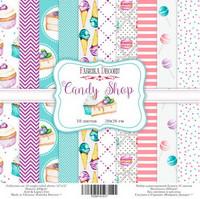 Candy Shop 20 x 20 cm - paperikokoelma