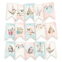 Cute & Co Die Cut Garland -koristepakkaus