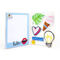 Recollections Sticky Notes Book: Cheeky Modern Pop