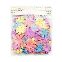 Backyard Table Paper Flowers Value Pack: Pastel Petals