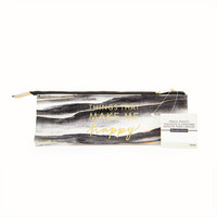 Recollections Creative Year Pencil Pouch: Black & Gold