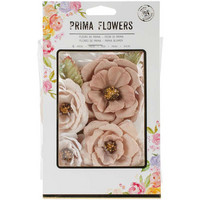 Prima Marketing Flower Embellishments: Petra
