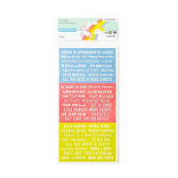 Recollections Planner Stickers:  Lollipalooza Word Strip - tarrapakkaus