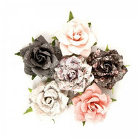 Prima Marketing Flower Embellishments: Rose Quartz Persian Marblelite