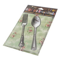 Architextures Treasures:  Silver Fork & Spoon