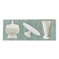 Architextures Trinkets:  Milk Glass Pieces
