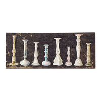 Architextures Trinkets:  Painted Candlestick Collection